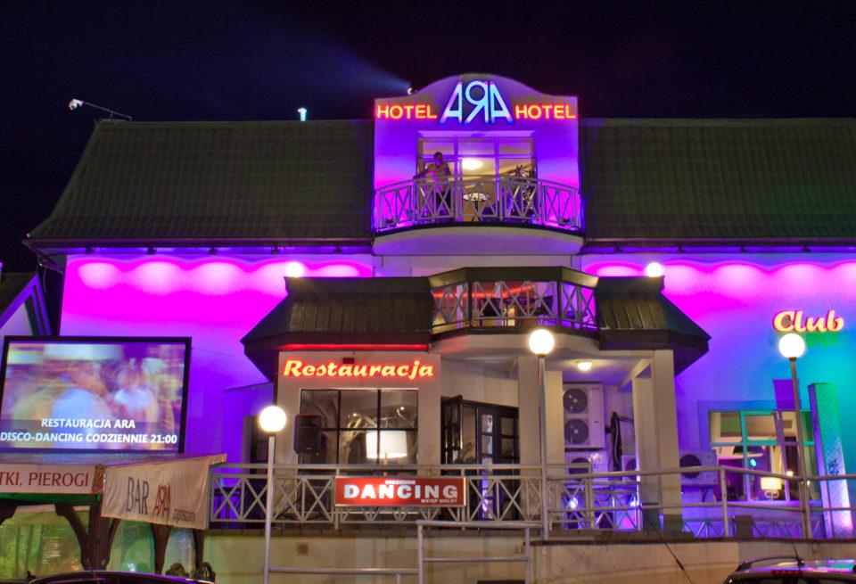 Jastrzębia Góra Hotel Ara